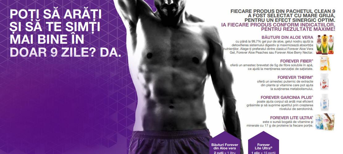 Controlul greutatii, Produse din Aloe Vera de la Forever Living Products